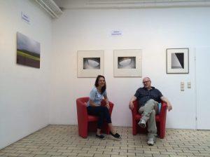Kunstsalon Tufa Trier 02.07.2016 Bettina Ghasempoor und Rainer Breuer