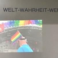 Ausschnitt: CSD Kornmarkt Trier 2018, bunt und weltoffen