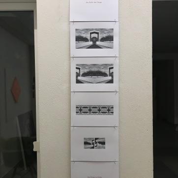 Installation - Die Dinge in Sicht - Es ist immer eine Frage der Perspektive ...