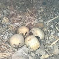 Gedenkstätte der Schlacht um Verdun. Hier sind die sterblichen Überreste von 130.000 unbekannten Soldaten begraben.