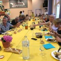 Biennale Saulieu - Abendessen mit allen Künstlern