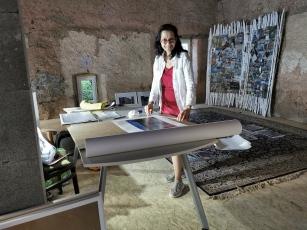 Vorbereitung Bettina Ghasempoor